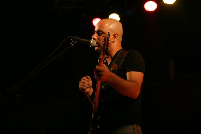Sderot musician Avi Vaknin, featured in the film, married the filmmaker
