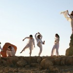 Dancing at Adama, Mitzpeh Ramon. Photo by Doron Horowitz/FLASH90