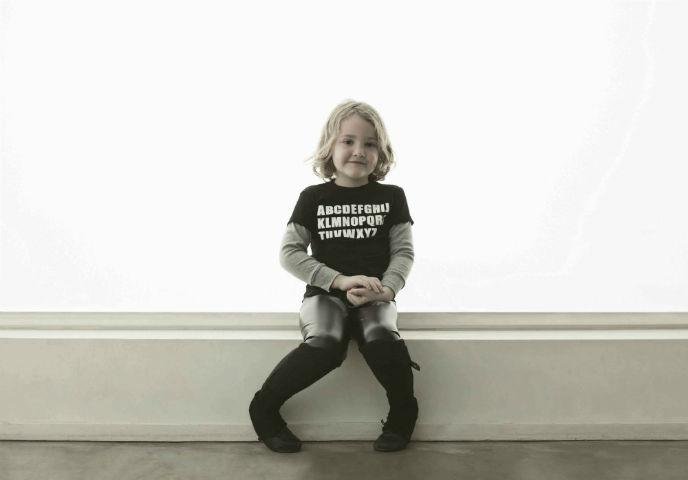 ABC shirt photo by Max Hochstein.