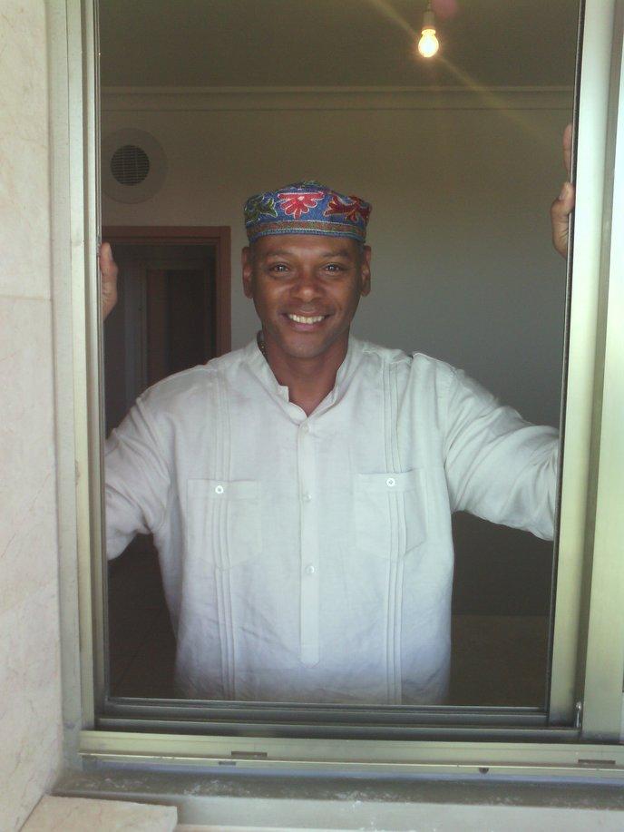 Malahki Yehuda in his new Ashkelon home.
