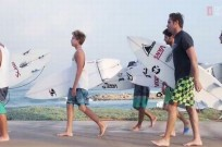 "Screenshot of ""Vans Israel Surf -- Rockets & Barrels"" video."