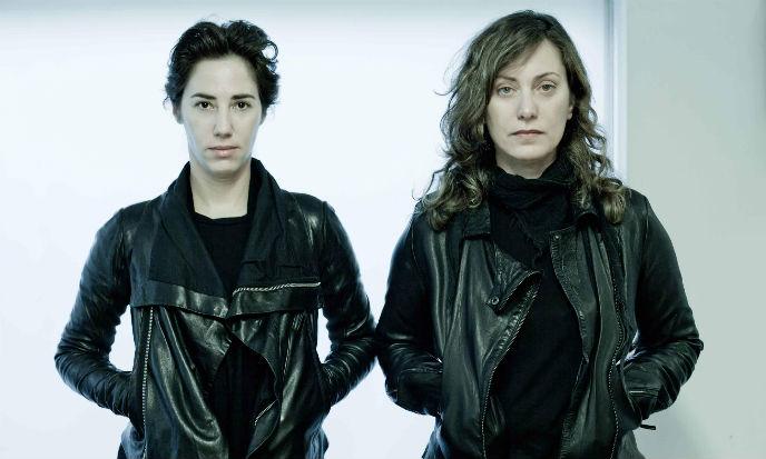 Tali Milchberg and Iris Adler. Photo by Uma Hochstein