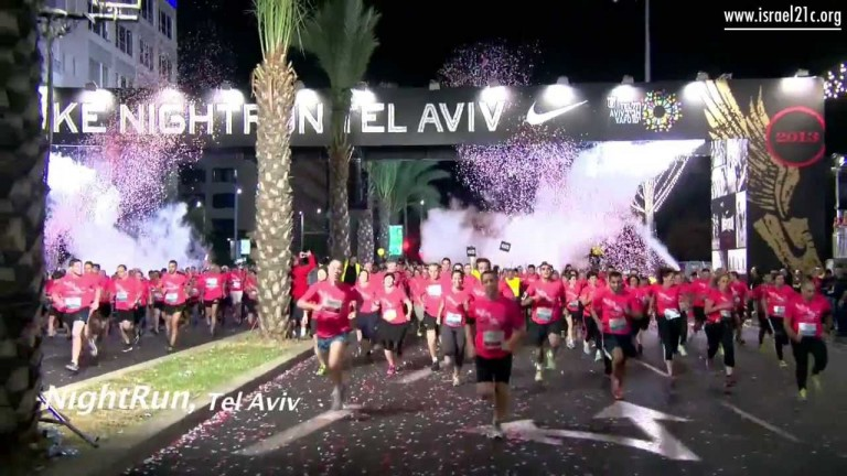 25,000 runners grind Tel Aviv to a halt