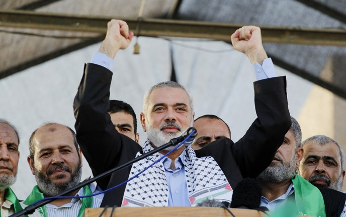 Hamas leader Ismail Haniyeh once again turned to Israeli hospitals to care for his family members. (Mostafa Ashqar/Flash90)
