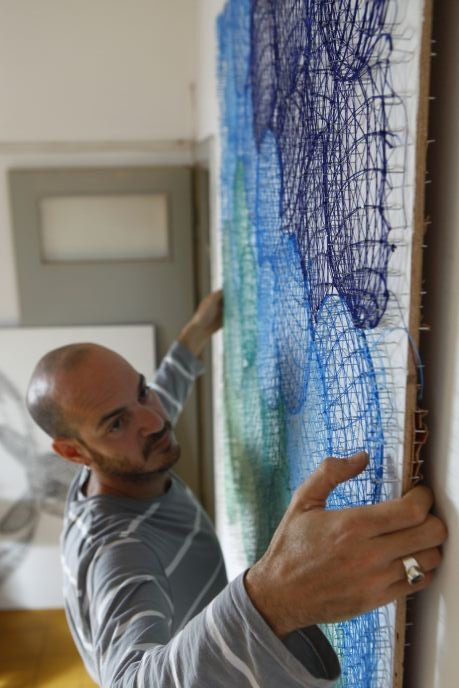 Nir Chehanowski in Studio Cheha.
