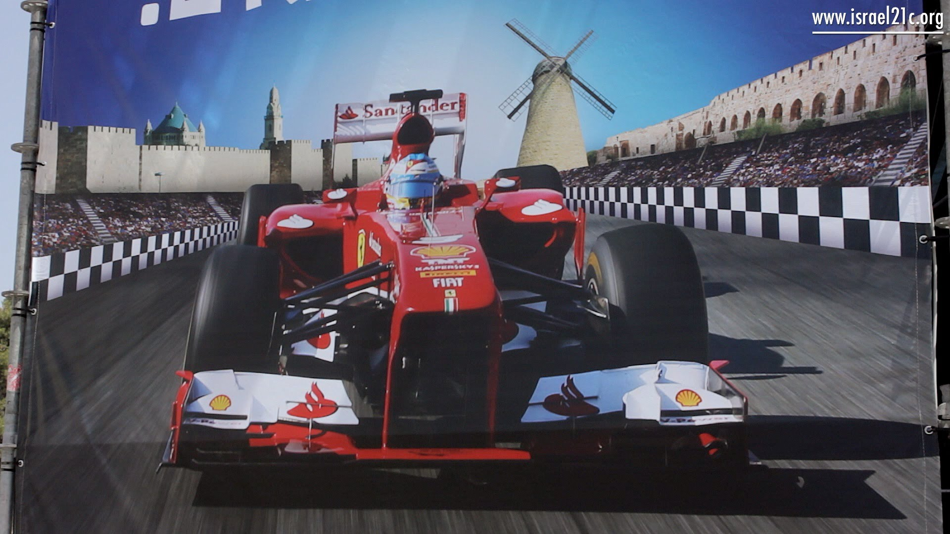 Formula One hits the streets of Jerusalem