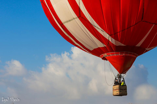 hot air balloon festival - darom adom - igal slavin