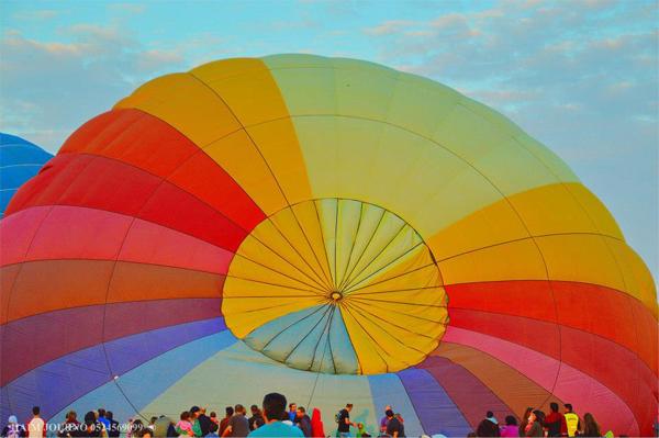 hot air balloon festival - gilboa regional council - haim journo 2