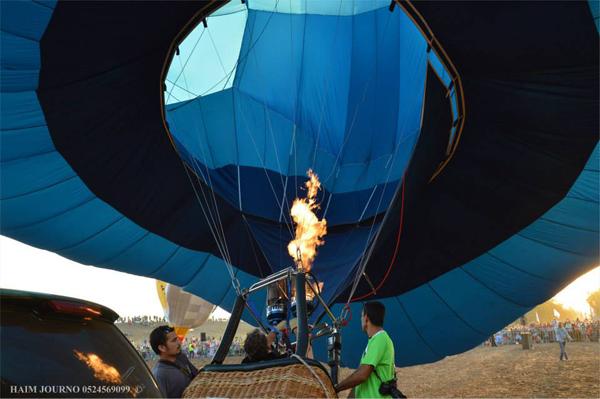 hot air balloon festival - gilboa regional council - haim journo 6