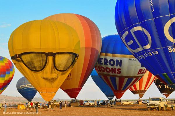 hot air balloon festival - gilboa regional council - haim journo 9