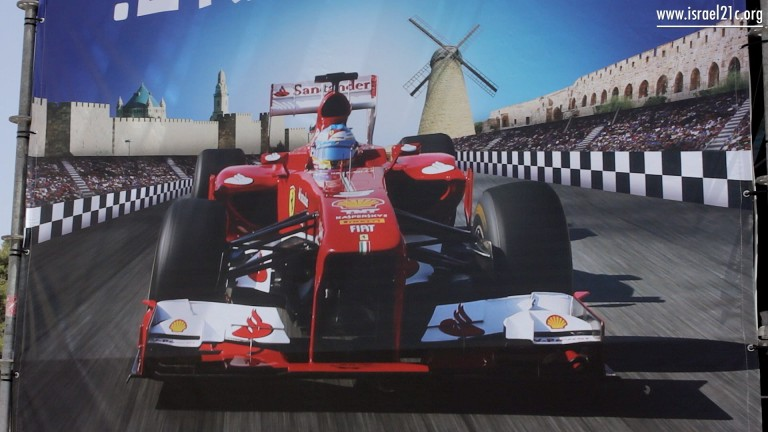 Jerusalem gears up for Formula One