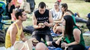 This picture was taken at the 2013 Vegan Fest.