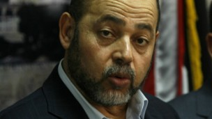 Senior Hamas official Moussa Abu Marzouk. (Abed Rahim Khatib/Flash90)