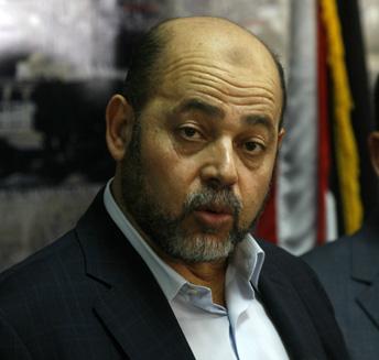 Senior Hamas official Moussa Abu Marzouk. (Abed Rahim Khatib/Flash90)