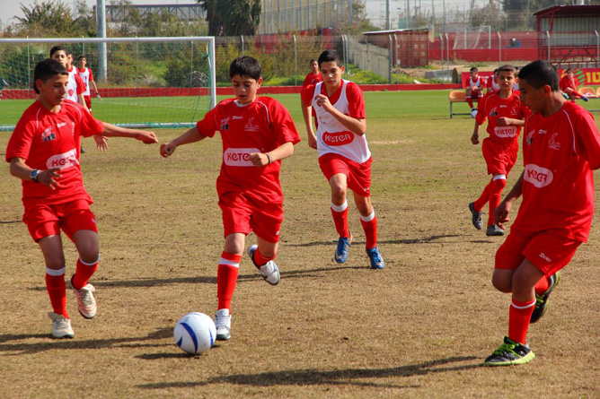 Mifalot aims to use soccer to help children in southern Israel cope with post-traumatic stress disorder (PTSD).