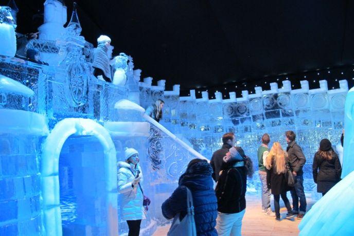 Jerusalem under ice.