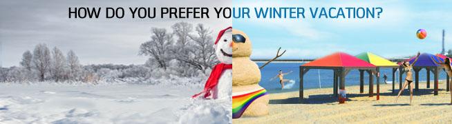Winter campaign.