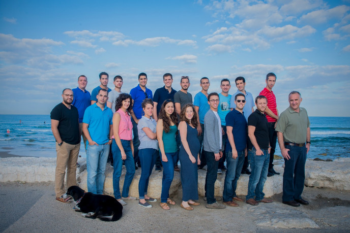 The Windward team in Tel Aviv.