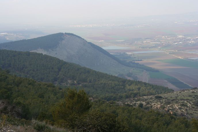 Mount Gilboa. (Wikimedia Commons)