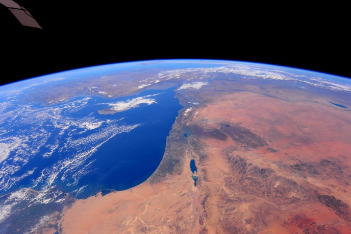 Photos of the Middle East from the International Space Station. All photos by NASA Astronaut Barry Wilmore.