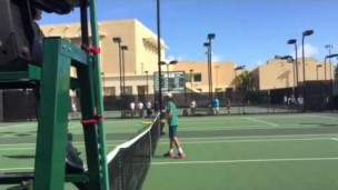 Teen tennis star aces Orange Bowl, again