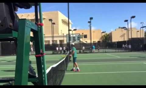 Teen tennis star aces Orange Bowl, again