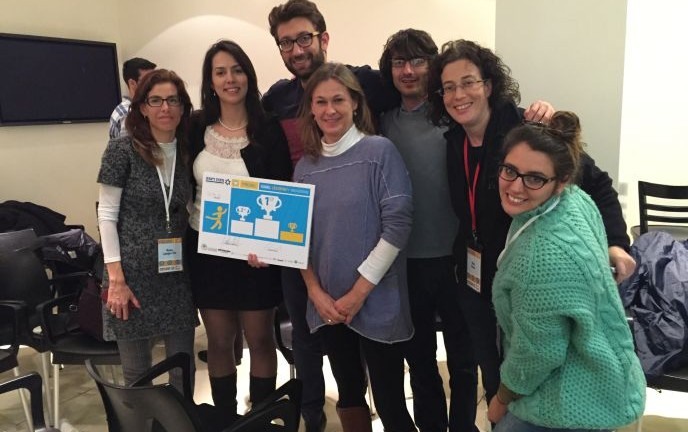 The Go.ProIL team win 3rd prize at the Reut Institute Hackathon.