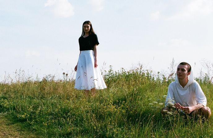 Berlin-based photographer David Meskhi took shots of ordinary people wearing Maya Bash clothing.