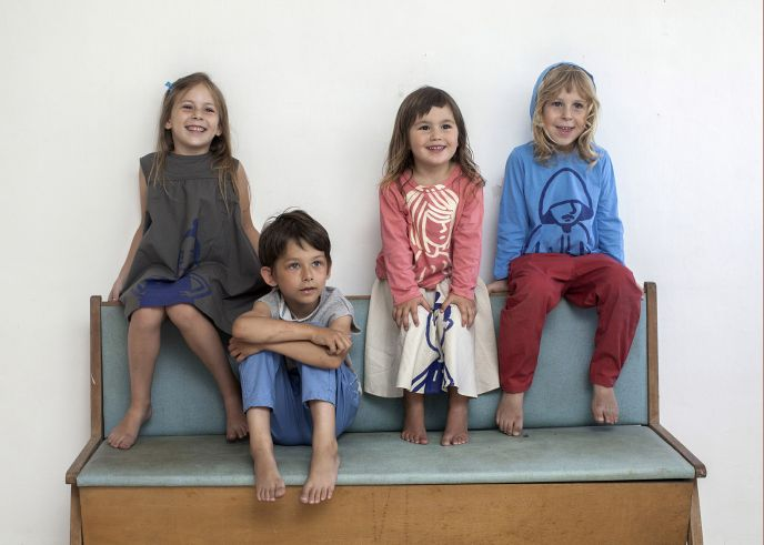 Maya Bash's recently launched kids collection. Photo by Irina Kaydalina