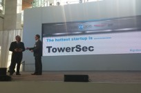 "TowerSec named the ""Hottest Startup in 2015"" at the North American International Auto Show."
