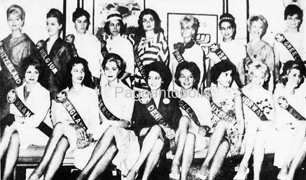 Miss Israel+Miss Lebanon_1960