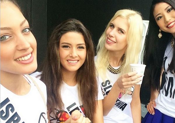 Miss Israel+Miss Lebanon_2015