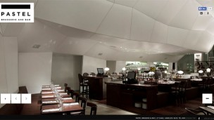 PASTEL brasserie is located in the Tel Aviv Museum's new wing. (Photo from Pastel's website)