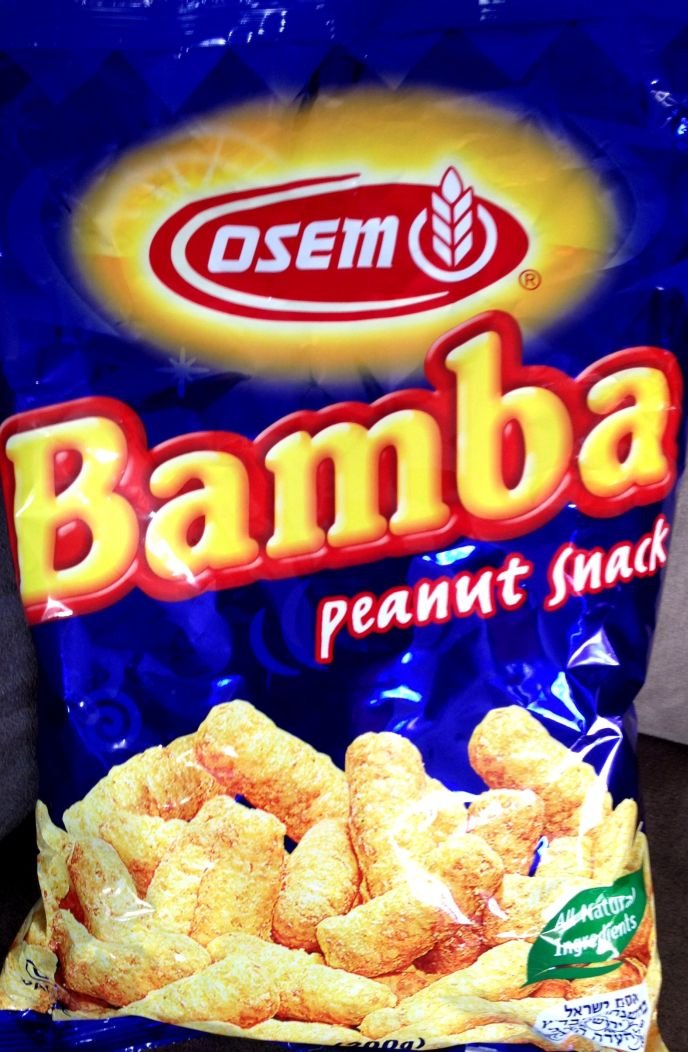 Bamba is purchased by 90% of Israeli households.