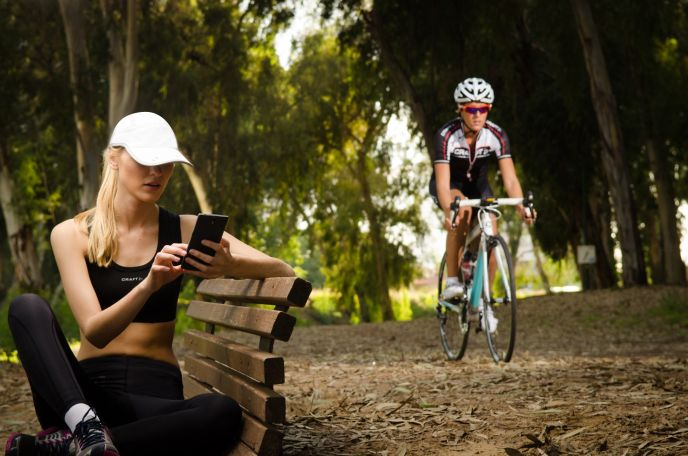 LifeBEAM makes running caps and helmets with embedded sensors linked to a smartphone.