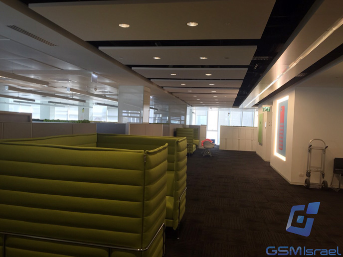 GSM-Israel took photos inside the new Herzliya offices of Apple. (GSM-Israel)