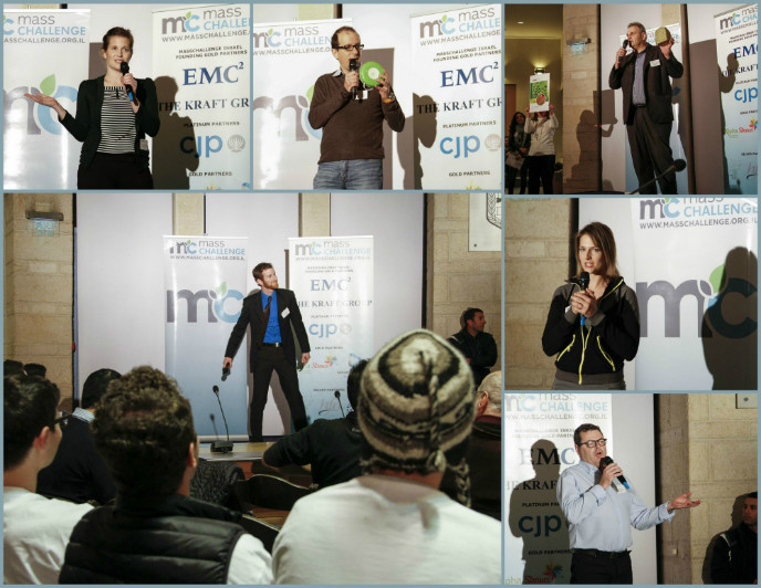 Minute to Pitch It participants present to the crowd. Photo: Yaniv Yur
