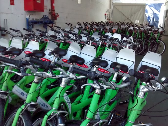 Tel-O-Fun offers 1,800 bikes for hire.
