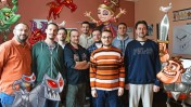The Crazy Labs team scored a hit with its Linebound mobile game app.