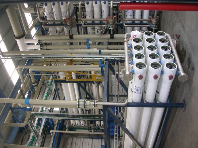 G.A.L. built this system to provide restored wastewater to Haifa industries.