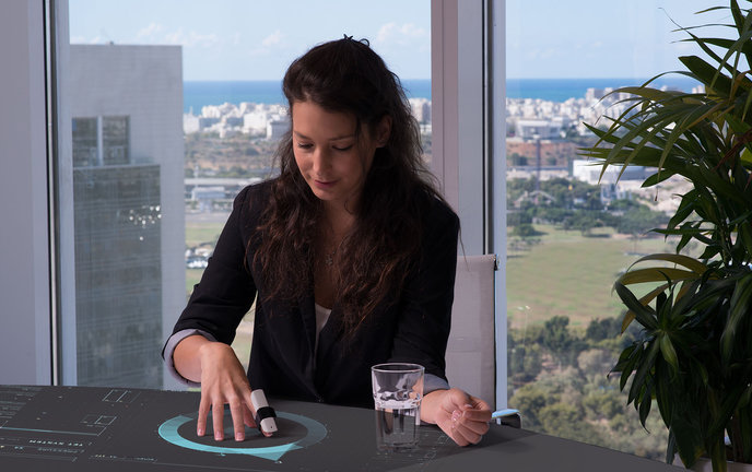 With Bird and Sphere, you can interact digitally on any surface.