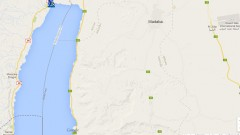 Israeli and Jordanian sides of the Dead Sea. (Google Maps)