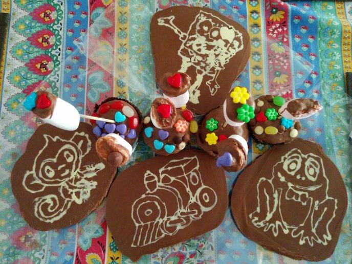Sarina Chocolate kids' workshop goodies. (Photo: Viva Sarah Press)
