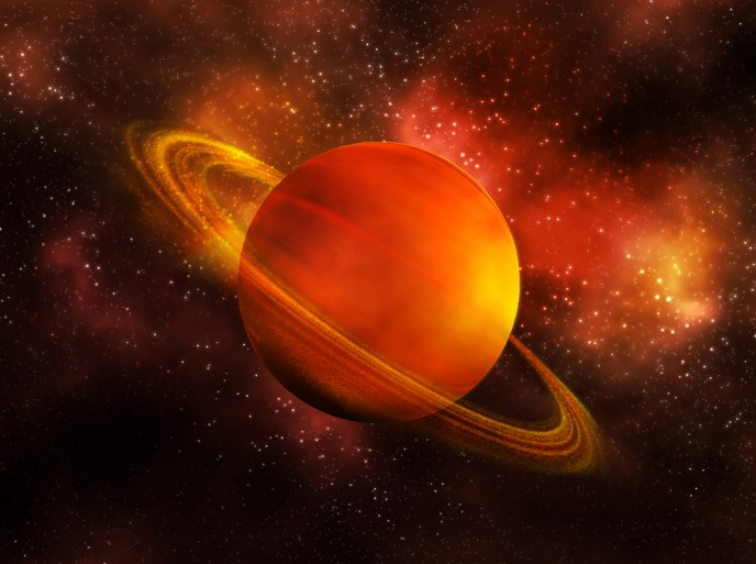 Saturn's day is 10 hours, 32 minutes and 44 seconds long, say Israeli researchers. (shutterstock.com)