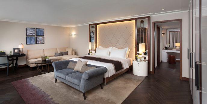 Tel Aviv Suite's bedroom.