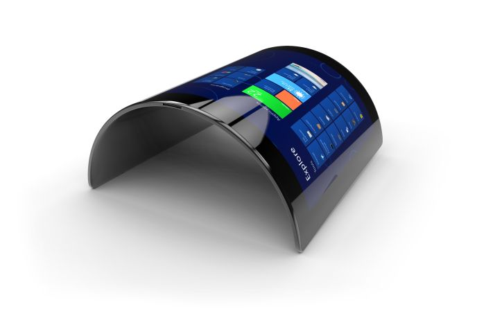 A flexible screen. www.shutterstock.com