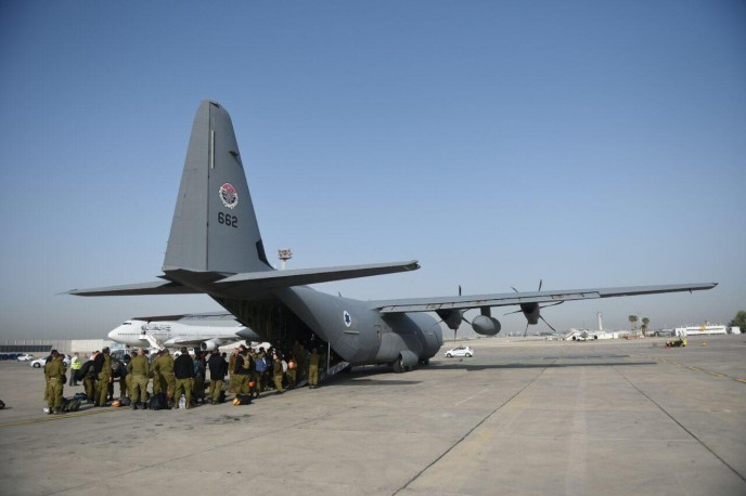 The IDF is sending a 260 strong team to help in Nepal.