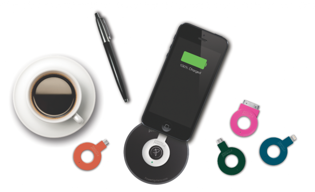 The Duracell Powermat Ring attaches to any device not already compatible with wireless charging.