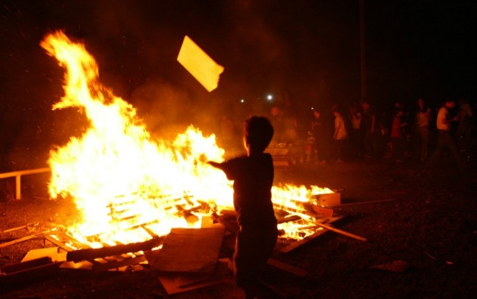 Lag B'Omer in Ramat Gan. Photo by Chen Leopold/FLASH90