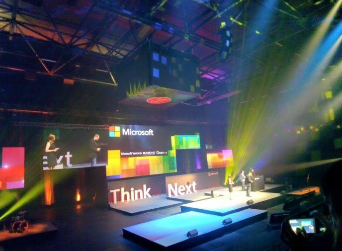 Think Next 2015 in Tel Aviv. Photo by Niv Calderon